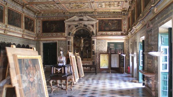 salvador 554 kathedrale ausstellungsraum