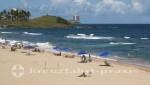 Salvador da Bahia - Strandabschnitt neben dem Farol da Barra