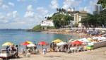 Salvador da Bahia - Strandabschnitt am Porto da Barra