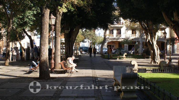San Cristobal de La Laguna - Plaza del Adelantado