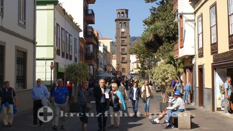 San Cristobal de La Laguna - Kirchturm der Iglesia de la Concepcion