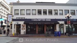 Fischrestaurant im Gaslamp-Viertel von San Diego