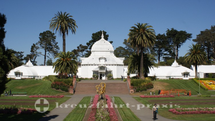 Das Conservatory of Flowers