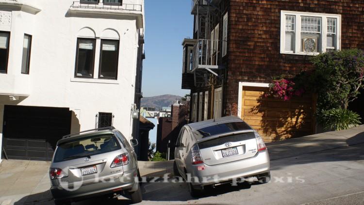 Parken in der Lombard Street