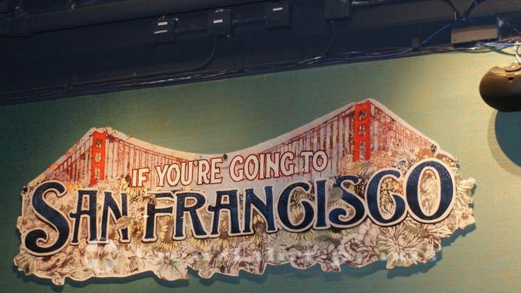 Schriftzug If you're going to San Francisco