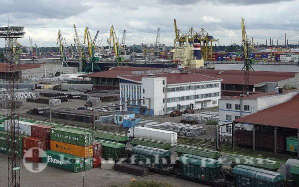 Hafen Sankt Petersburg