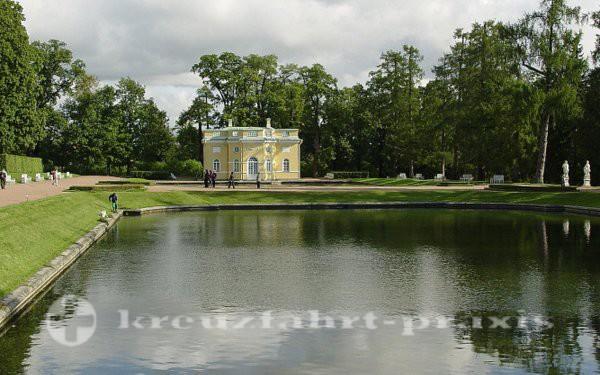 Sankt petersburg besuch gro er katharinenpalast for Terrassenanlagen bilder