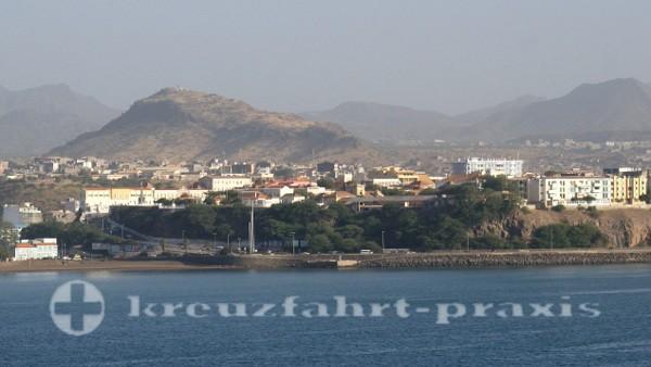 Kapverden - Die Oberstadt von Praia