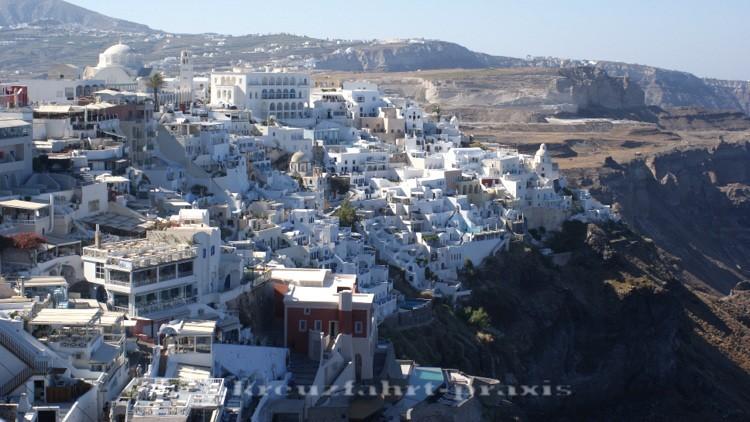 Santorin - Inselhauptstadt Fira