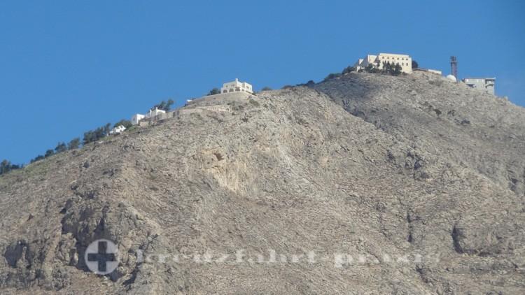 Santorini - Profitis Ilias massif