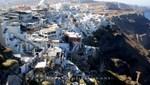 Santorin - Fira - Kein Haus ohne Terrasse
