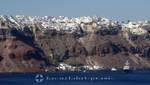 Santorini - Oia with the port of Armeni