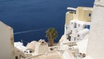 Santorini - Terraced development in Oia