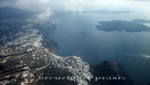 Santorini - seen from the air