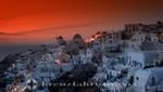 Santorin - Sonnenuntergang in Oia