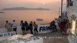 Santorin - Sonnenuntergang in Fira
