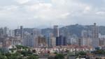 Santos - Hochhauskulisse vor dem Monte Serrat