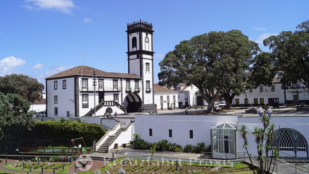 São Miguel - the town hall of Ribeira Grande