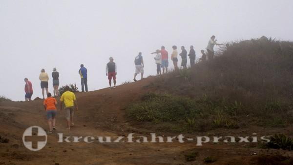 Sao Vicente - Frierende Urlauber am Monte Verde