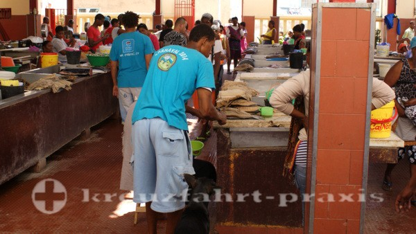 Sao Vicente - Mindelo - Fischmarkt