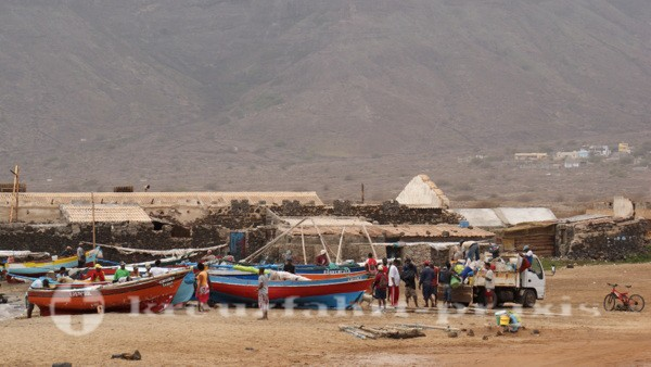 Sao Vicente - Fischergemeinschaft nahe Baia das Gatas