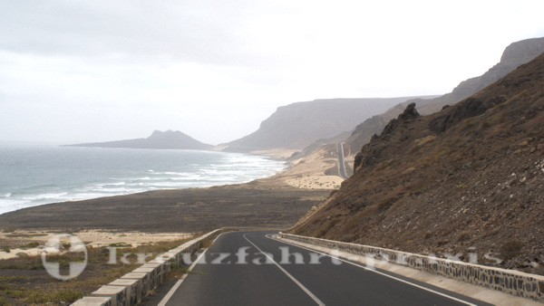 Sao Vicente - Die Dünenlandschaft von Praia Grande
