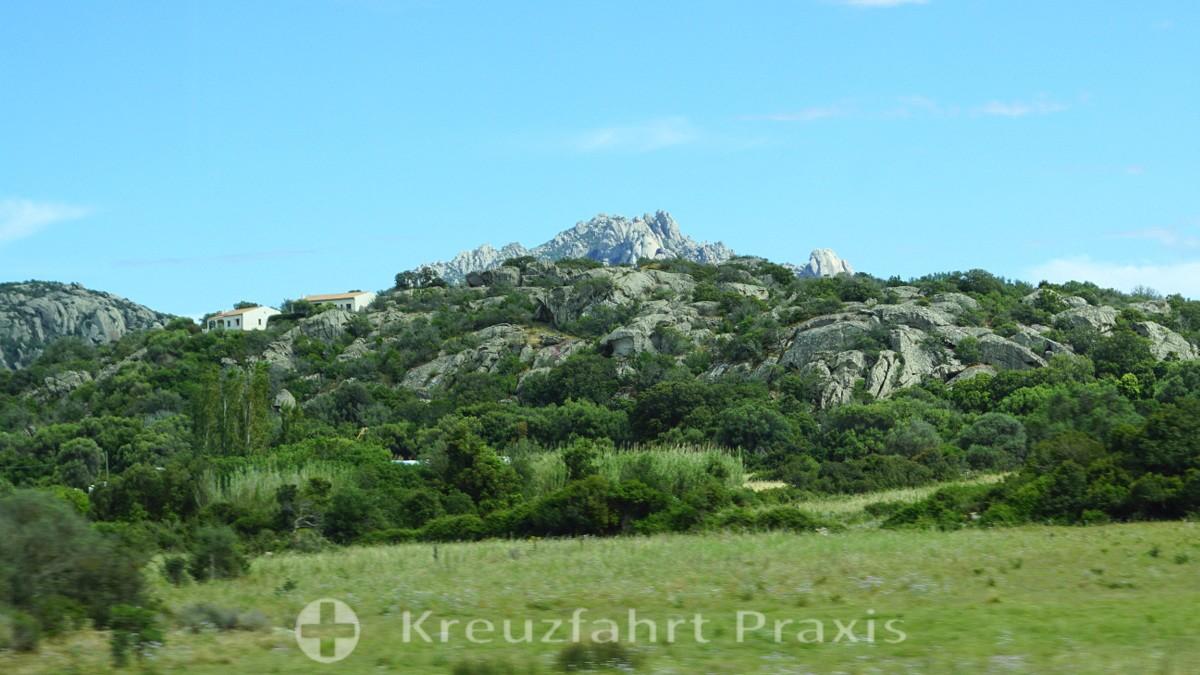 Die wilde Landschaft der Gallura