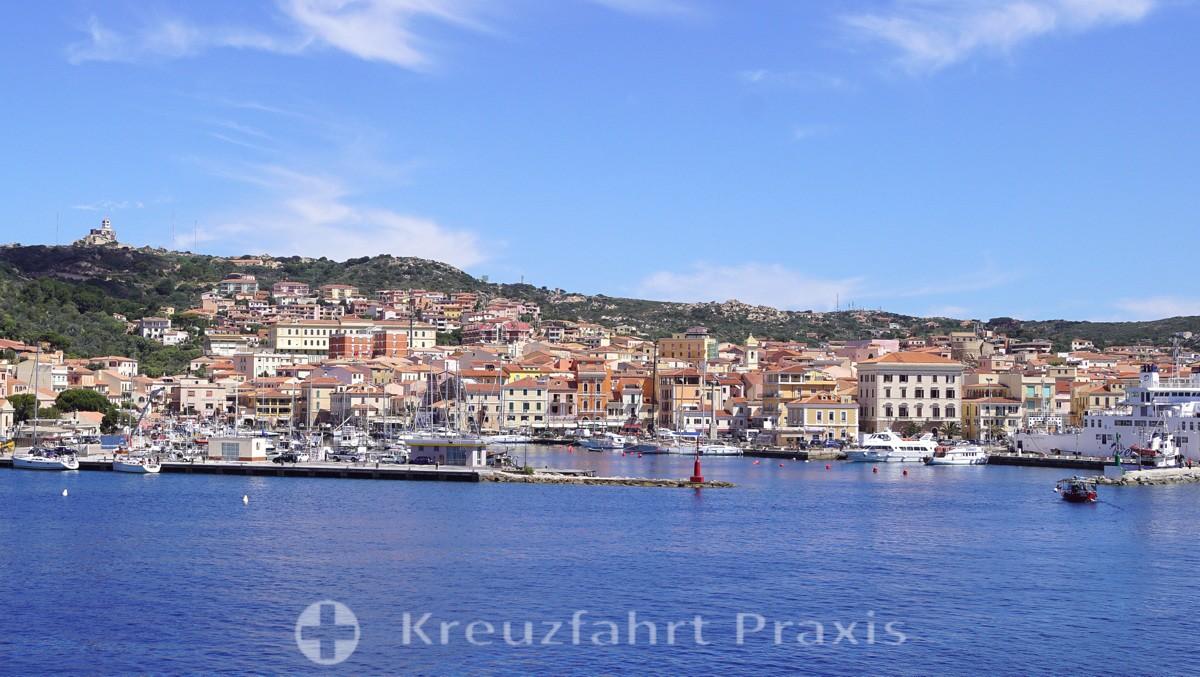 Besuch der Inseln La Maddalena und Caprera