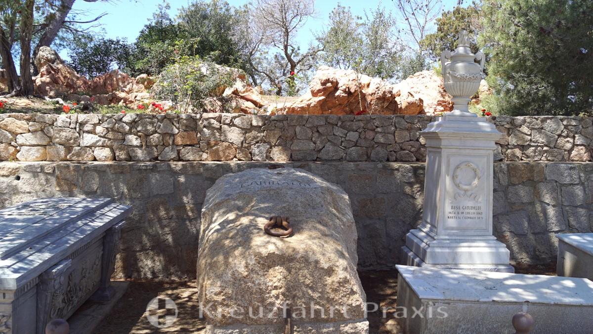 Garibaldis einfaches Grab