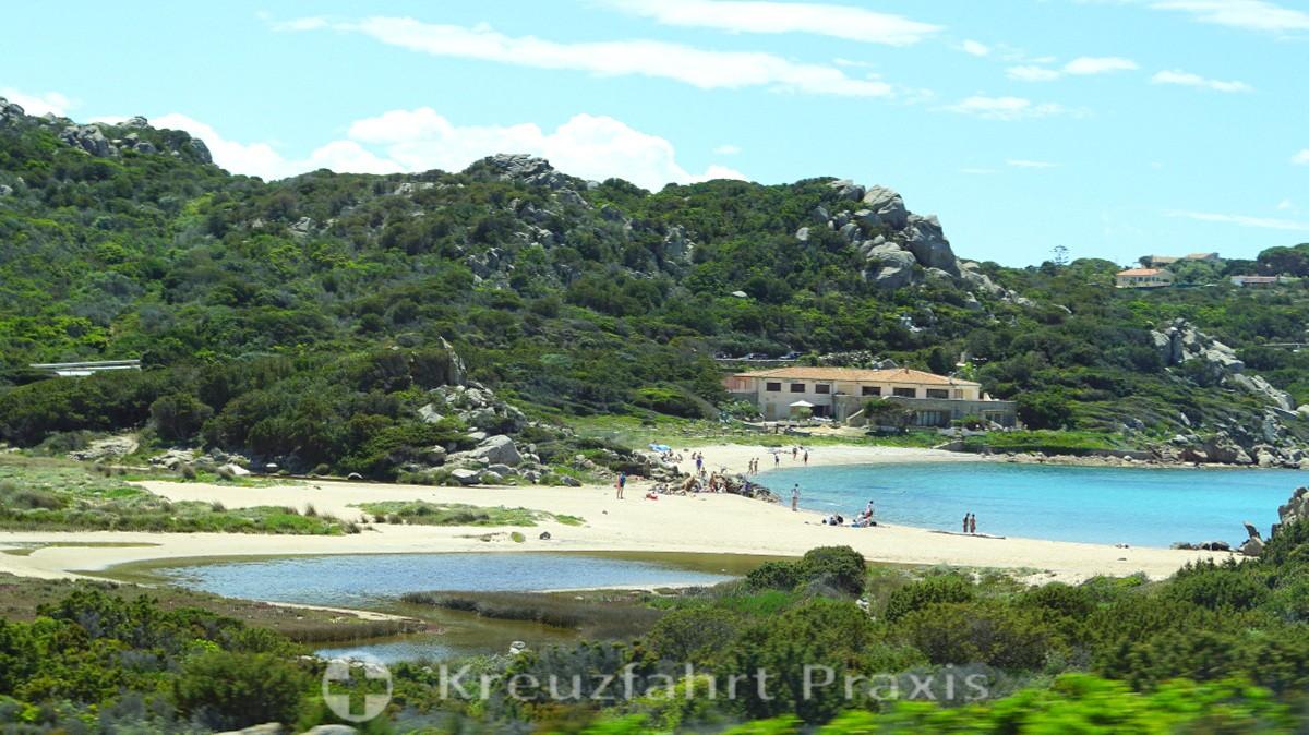 Strandabschnitt auf La Maddalena