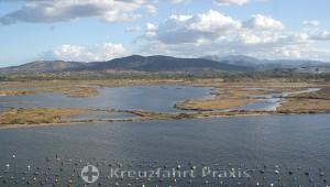 Die Lagunen von Olbia