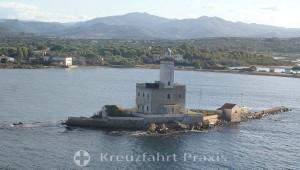 Olbia - Leuchtturm-Insel Isola di Bocca