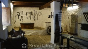 Insel Caprera - das Museo Garibaldi - der Pferdestall