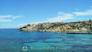 Küstenabschnitt - La Maddalena