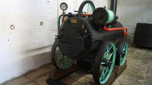Insel Caprera - Garibaldi-Museum - Dampfmaschine