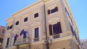 La Maddalena - Rathaus