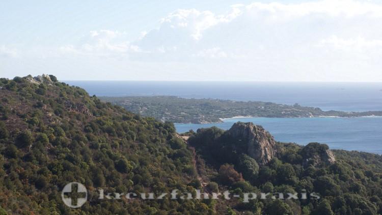 Sardinien - Küste vor Porto Cervo