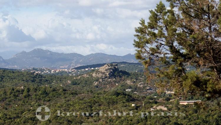 Olbias  wilde Berglandschaft