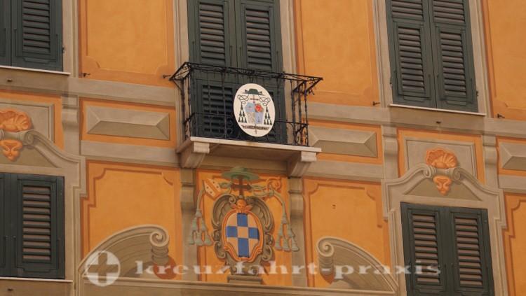 Savona - Bischofspalast - Fassadendetail