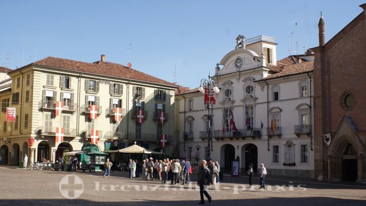 Asti/Piemont - Rathaus
