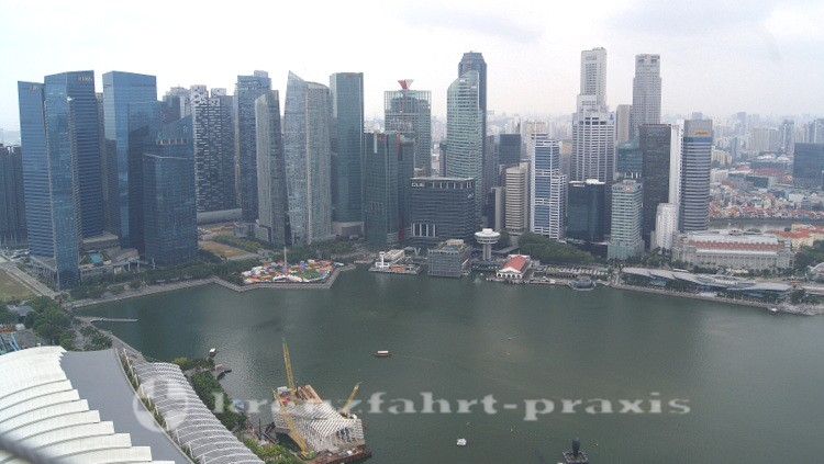 Singapurs Financial District