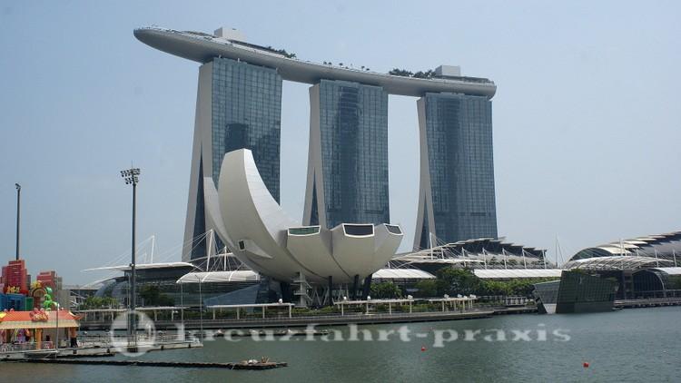 Marina Bay Sands und Art Science Museum