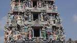 Chinatown - Sri Mariamman Temple - Fassadendetail