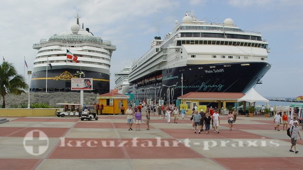 Sint Maarten - Kreuzfahrtpier