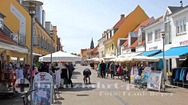 Skagen - Stadtzentrum