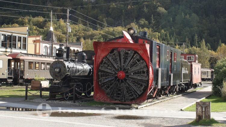 Material der White Pass & Yukon Railway