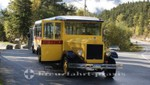 Bus der Skagway Alaska Street Car Tour
