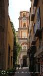 Sorrent - Uhrturm der Kathedrale