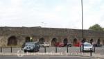 Southampton - Reste der Stadtmauer am Castle Gate