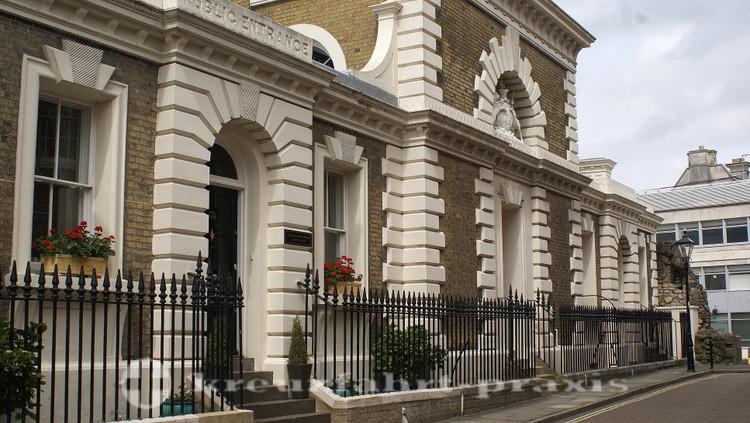 Southampton - Das alte Court House an der Castle Street